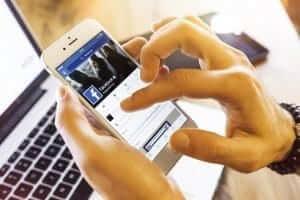 social media during divorce