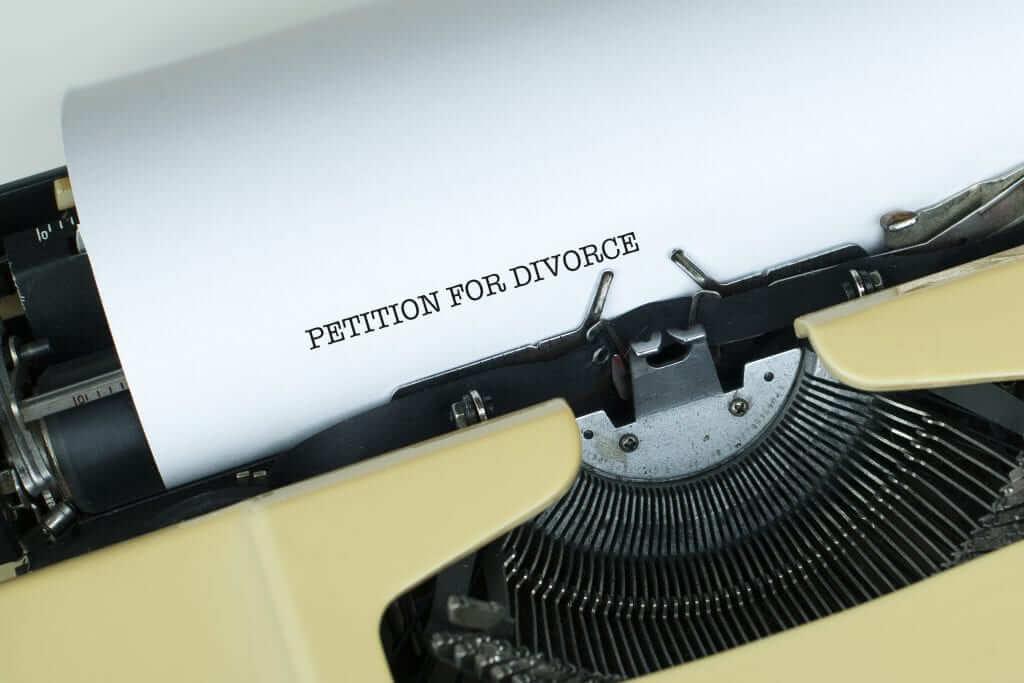 filing for divorce pro se