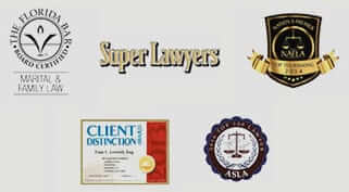Board Certified Marital & Family Law - Super Lawyers
